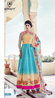 Pretty Colourful Anarkali